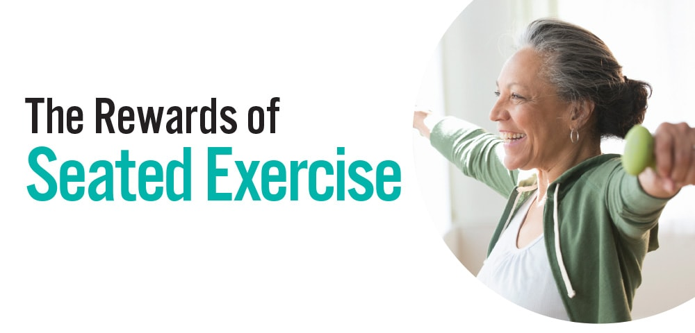 The Rewards of  Seated Exercise